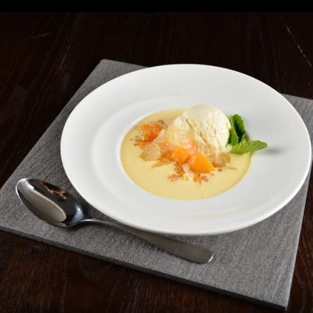 RECETA: Crema de mango con helado Von Glacet